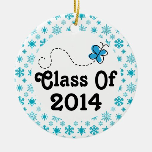 Class Of 2014 Graduation Gift Christmas Ornament