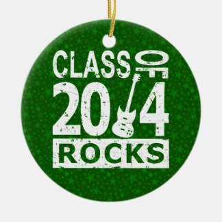Class Of 2014 Rocks Round Ceramic Decoration