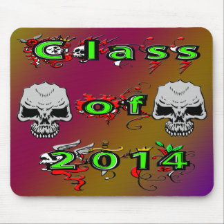Class of 2014 - Skulls Mouse Pad