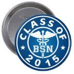 Class of 2015 BSN 10 Cm Round Badge