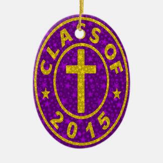 Class Of 2015 Christian Ceramic Oval Decoration