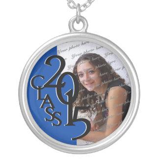 Class of 2015 Grad Photo Blue Custom Jewelry
