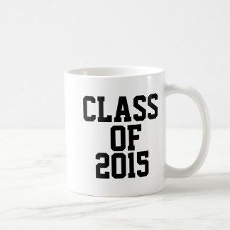 Class of 2015 Graduate Classic White Coffee Mug