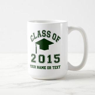 Class of 2015 Graduation Basic White Mug