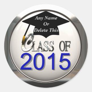 Class Of 2015 Graduation Stickers