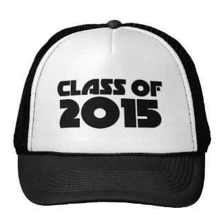 Class of 2015 trucker hats