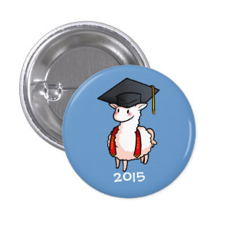 Class of 2015 Llama Button