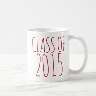 Class of 2015 coffee mugs