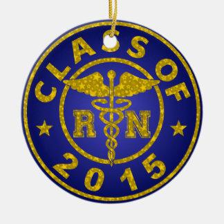 Class Of 2015 RN Ceramic Ornament
