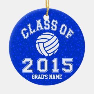 Class Of 2015 Volleyball Ceramic Ornament