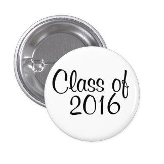 Class of 2016 3 cm round badge