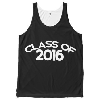 Class of 2016 All-Over print tank top