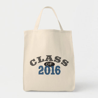 Class Of 2016 Blue Canvas Bag