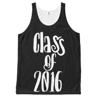Class of 2016 graduation All-Over print tank top