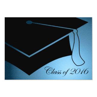 class of 2016 graduation cap 13 cm x 18 cm invitation card