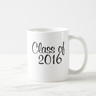 Class of 2016 coffee mug