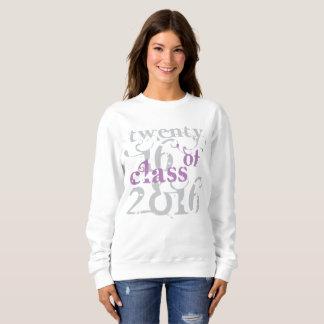 Class of 2016 Swirly Purple Sweatshirt