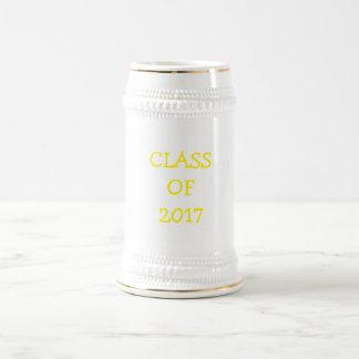 Class of 2017 beer stein