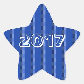 Class of 2017 Blue Star Sticker by Janz