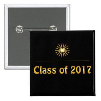 Class of 2017 button