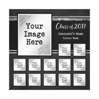 Class of 2017 Commemorative K-12 Keepsake Canvas Print
