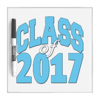 Class of 2017 dry erase board