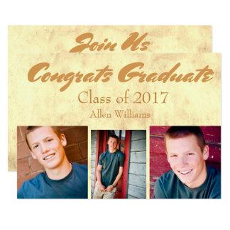 Class of 2017 Gold Graduate Card