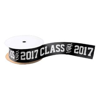 Class of 2017 Graduation Custom Color Gift Ribbon Satin Ribbon