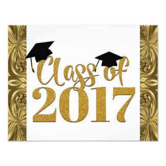 Class Of 2017 Graduation Party Invitations
