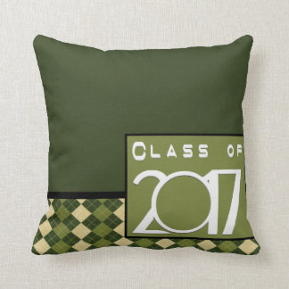 Class of 2017 Graduation Throw Pillow