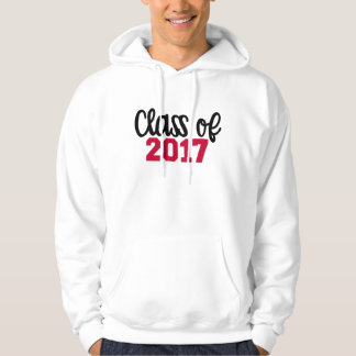 Class of 2017 hoodie