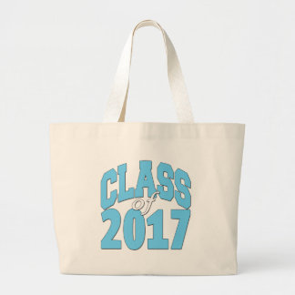 Class of 2017 large tote bag