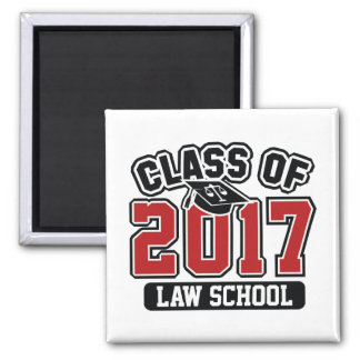 Class Of 2017 Law Square Magnet