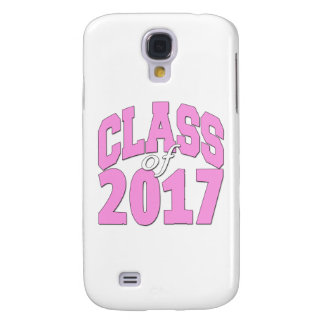 Class of 2017 pink galaxy s4 cover