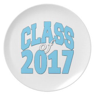 Class of 2017 plate