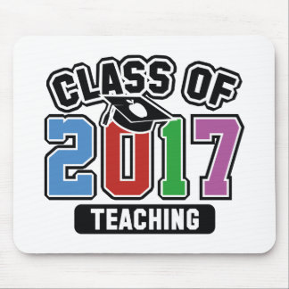 Class Of 2017 Teaching Mouse Pad
