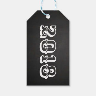 Class Of 2018 Bold Vintage Chalkboard Graduate Gift Tags