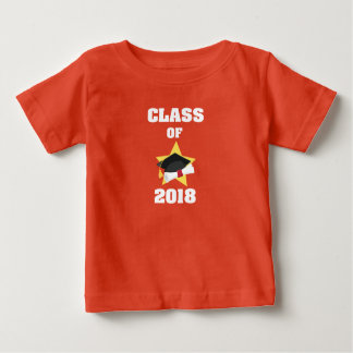 Class of 2018 Cap and Diploma Star Baby T-Shirt