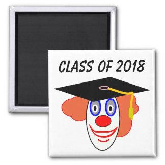 Class of 2018 Clown Magnet