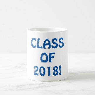Class of 2018 coffee mug