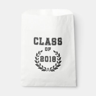 Class of 2018 favour bag