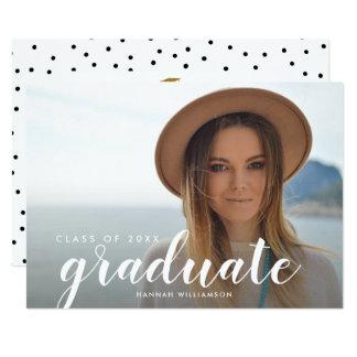 Class of 2018 Graduate Photo Graduation Party Card