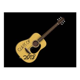 Class of 2018 Guitar Postcard