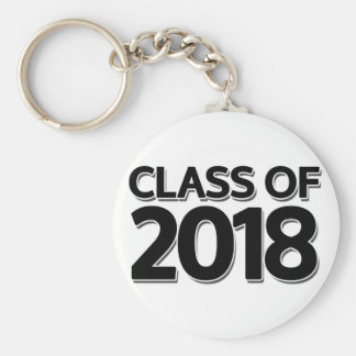Class of 2018 key ring