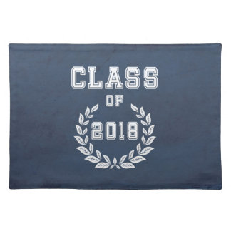 Class of 2018 placemat