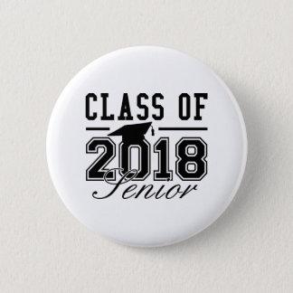 Class Of 2018 Senior 6 Cm Round Badge