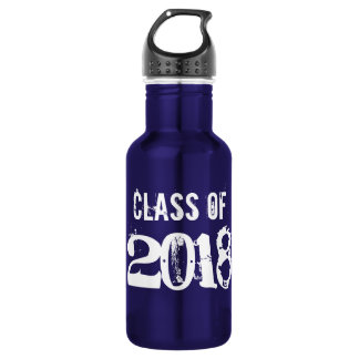Class of 2018 water bottle