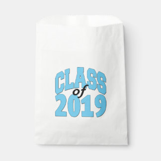 Class of 2019 blue favour bag