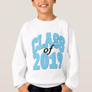 Class of 2019 blue sweatshirt