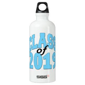 Class of 2019 blue water bottle